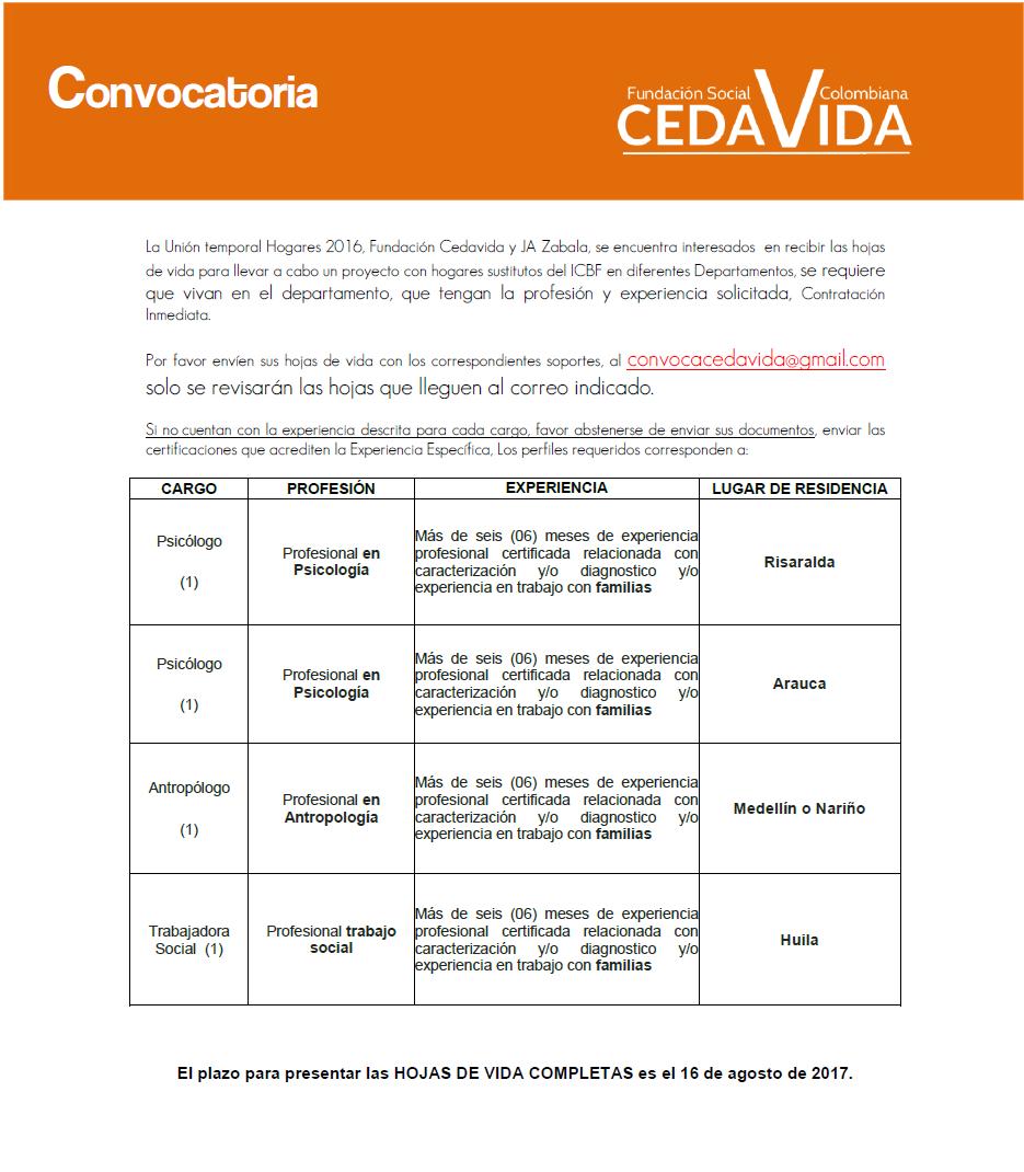 CONVOCATORIA HOGARES2